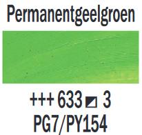 Permanentgeelgroen  Rembrandt Olieverf Royal Talens 40 ML (Serie 3) Kleur 633