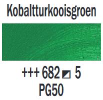 Kobaltturkooisgroen  Rembrandt Olieverf Royal Talens 40 ML (Serie 5) Kleur 682