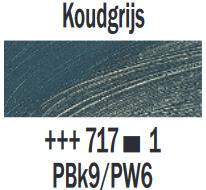 Koudgrijs  Rembrandt Olieverf Royal Talens 40 ML (Serie 1) Kleur 717