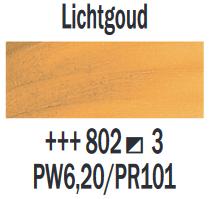 Lichtgoud  Rembrandt Olieverf Royal Talens 40 ML (Serie 3) Kleur 802
