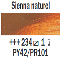 Rembrandt Olieverf Sienna naturel  Royal Talens 150 ML Kleur 234
