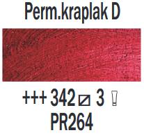 Rembrandt Olieverf Permanent kraplak Donker  Royal Talens 150 ML Kleur 342