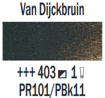Rembrandt Olieverf Van Dijckbruin  Royal Talens 150 ML Kleur 403