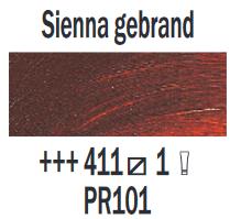 Rembrandt Olieverf Sienna gebrand  Royal Talens 150 ML Kleur 411