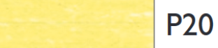 Derwent Pastel Pencil (P020) Zinc Yellow pastelpotlood