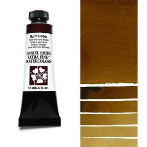 Burnt Umber (S1) Aquarelverf Daniel Smith (Extra fine Watercolour) 15 ml Kleur 011