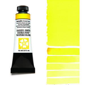 Aureolin (Cobalt Yellow) (S3) Aquarelverf Daniel Smith (Extra fine Watercolour) 15 ml Kleur 006