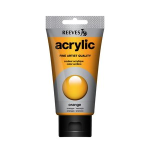 Acrylverf Orange 75 ML Reeves Artist Kleur 150