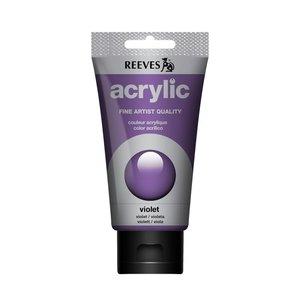 Acrylverf Violet 75 ML Reeves Artist Kleur 300