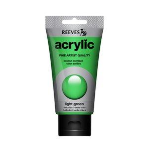 Acrylverf Light green 75 ML Reeves Artist Kleur 420