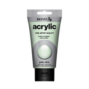 Acrylverf Pale olive 75 ML Reeves Artist Kleur 450