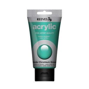 Acrylverf Oxide chromium green 75 ML Reeves Artist Kleur 460