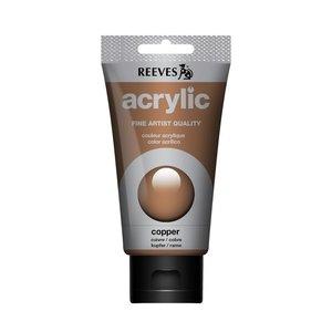 Acrylverf Copper 75 ML Reeves Artist Kleur 803