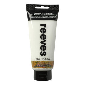 Textuur Gel Medium Reeves Acrylic 200 ml RM 832