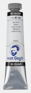 Zinkwit Van Gogh Olieverf van Royal Talens 20 ML Serie 1 Kleur 104