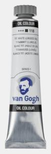 Titaanwit (Lijnolie) Van Gogh Olieverf van Royal Talens 20 ML Serie 1 Kleur 118