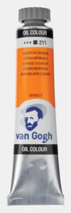 Cadmiumoranje Van Gogh Olieverf van Royal Talens 20 ML Serie 2 Kleur 211