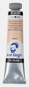 Napelsgeel Rood Van Gogh Olieverf van Royal Talens 20 ML Serie 1 Kleur 224