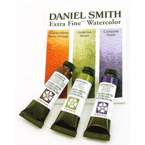 Secondaire kleuren set  Aquarelverf Daniel Smith (Extra fine Watercolour) 3 x 15 ml tubes Set 077