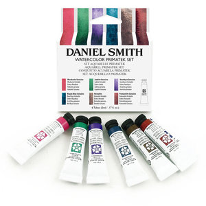 Primatek Introductie set  Aquarelverf Daniel Smith (Extra fine Watercolour) 6 x 5 ml tubes Set 006