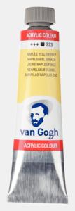 Napelsgeel Van Gogh Acrylic Colours / Acrylverf Royal Talens 40 ML Kleur 223