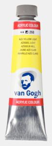 Azogeel licht Van Gogh Acrylic Colours / Acrylverf Royal Talens 40 ML Kleur 268