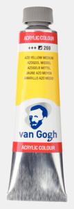 Azogeel middel Van Gogh Acrylic Colours / Acrylverf Royal Talens 40 ML Kleur 269