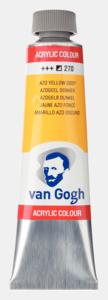 Azogeel donker Van Gogh Acrylic Colours / Acrylverf Royal Talens 40 ML Kleur 270
