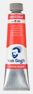Naftolrood licht Van Gogh Acrylic Colours / Acrylverf Royal Talens 40 ML Kleur 398