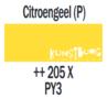Plakkaatverf Citroengeel Extra fijn (Gouache Extra fine) Royal Talens 20 ML Kleur 205