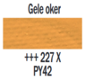 Plakkaatverf Gele oker Extra fijn (Gouache Extra fine) Royal Talens 20 ML Kleur 227