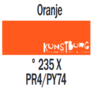 Plakkaatverf Oranje Extra fijn (Gouache Extra fine) Royal Talens 20 ML Kleur 235
