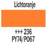 Plakkaatverf Lichtoranje Extra fijn (Gouache Extra fine) Royal Talens 20 ML Kleur 236