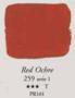 Egg Tempera Rode Oker Sennelier 21 ML Serie 1 Kleur 259