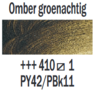 Omber groenachtig  Rembrandt Olieverf Royal Talens 40 ML (Serie 1) Kleur 410