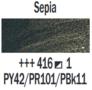 Sepia  Rembrandt Olieverf Royal Talens 40 ML (Serie 1) Kleur 416