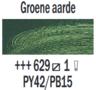 Groene aarde  Rembrandt Olieverf Royal Talens 40 ML (Serie 1) Kleur 629