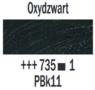 Oxydzwart  Rembrandt Olieverf Royal Talens 40 ML (Serie 1) Kleur 735
