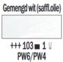 Rembrandt Olieverf Gemengd wit Royal Talens 150 ML Kleur 103