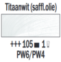 Rembrandt Olieverf Titaanwit  Royal Talens 150 ML Kleur 105
