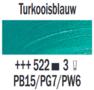 Rembrandt Olieverf Turkooisblauw  Royal Talens 150 ML Kleur 522
