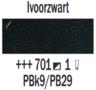 Rembrandt Olieverf Ivoorzwart  Royal Talens 150 ML Kleur 701