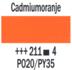Cadmiumoranje  Rembrandt Olieverf Royal Talens 40 ML (Serie 4) Kleur 211_5