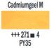 Cadmiumgeel Middel  Rembrandt Olieverf Royal Talens 40 ML (Serie 4) Kleur 271_5