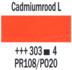 Cadmiumrood licht  Rembrandt Olieverf Royal Talens 40 ML (Serie 4) Kleur 303_5