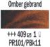 Omber gebrand  Rembrandt Olieverf Royal Talens 40 ML (Serie 1) Kleur 409_5