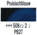 Pruisischblauw  Rembrandt Olieverf Royal Talens 40 ML (Serie 2) Kleur 508_5