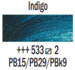 Indigo  Rembrandt Olieverf Royal Talens 40 ML (Serie 2) Kleur 533_5