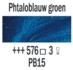 Phtaloblauw groen  Rembrandt Olieverf Royal Talens 40 ML (Serie 3) Kleur 576_5