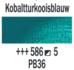 Kobaltturkooisblauw  Rembrandt Olieverf Royal Talens 40 ML (Serie 5) Kleur 586_5